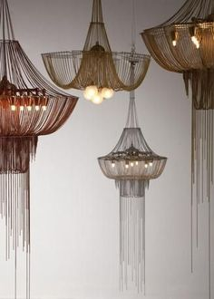 Bead Chain Lighting - Google Search