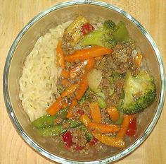 Cheap & Easy Hamburger Stir Fry - Yours And Mine Are Ours