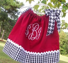 ALABAMA Pillowcase Style Dress Monogrammed by BabyKaysBoutique, $30.00