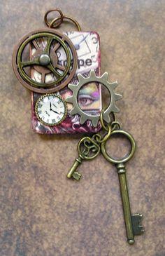 Steampunk Key Ring