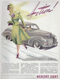 Mercury Eight advertisement, 1939