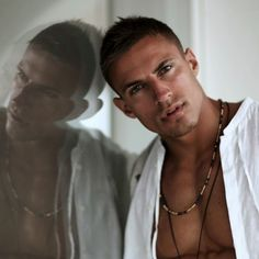 Michael Thurston by Broosk Saib Most Beautiful Man, Gorgeous Men, Pretty Men, Beautiful People, Black Dagger Brotherhood, Raining Men, Man Photo, Man In Love, Male Face