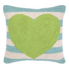 Lilou Pillow in Green