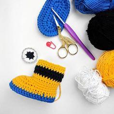 Hello everyone! I am working on Minion Inspired Crochet Babyhellip