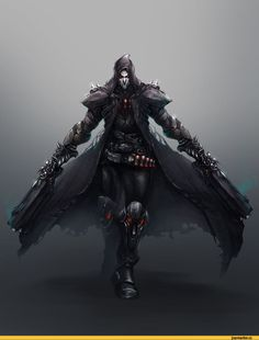 Overwatch,Игры,Игровой арт,game art,reaper