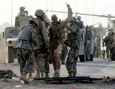 US Marine Gunnery Sgt Burghardt