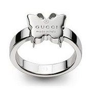 #Gucci Ring with Trademark Butterfly