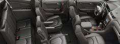 2016 Traverse mid size suv seating