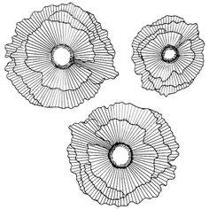 Floating Flowers Metal Wall Decor-Set of 3 ($70) ❤ liked on Polyvore featuring home, home decor, wall art, set of three wall art, metal flower wall art, flower home decor, metal wall art and set of 3 wall art
