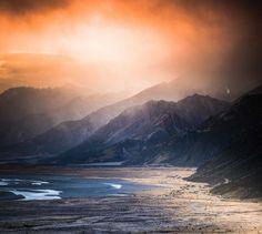 """Mt Cook National Park, New Zealand. @louisjerard on Instagram: """"Breakthrough"""""""
