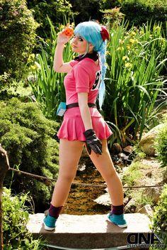 Le cosplay sexy du jour : Bulma from Dragon Ball anime series Bulma Costume, Bulma Cosplay, Dbz, Cosplay Diy, Cosplay Girls, Cosplay Ideas, Female Cosplay, Bulma Y Trunks, Anime Costumes