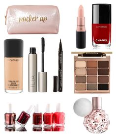 """""""2016 makeup!💋💄💅🏻"""" by therissashow on Polyvore featuring Neiman Marcus, Chanel, Stila, Essie, MAC Cosmetics, Smith & Cult and Ilia"""