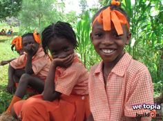 Thanks to Joy given in WeTopia, children in Moline, Haiti now have access to a safe learning environment.