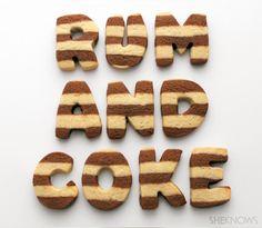 rum and coke cookies