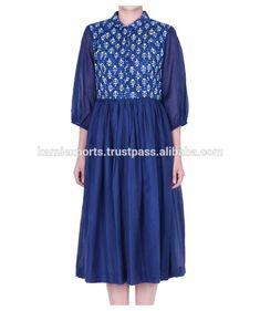 Hand-block printed dress / europe style ladies dress plus size 2015 women casual dress wholesale Casual Dresses For Women, Dress Casual, Europe Style, Europe Fashion, Dressmaking, Korean Fashion, Fashion Dresses, Plus Size, Korean Style