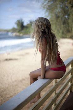 can it be summer please #blonde #summer #beach