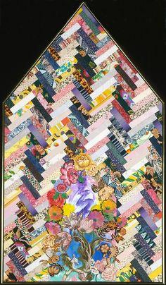 cavetocanvas:  Miriam Schapiro, New Harmony, 1980