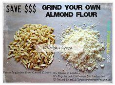 DYI Almond Flour on the cheap