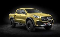 WALLPAPERS HD: Mercedes Benz X Class Pickup Concept