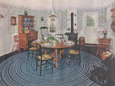 Vintage Dining Rooms, Mid Century Dining Rooms