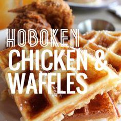 Chicken & Waffles in Hoboken