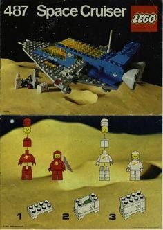 Space - Space Cruiser [Lego 487]