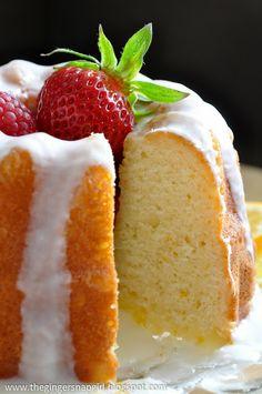 The Ginger Snap Girl: Glazed Meyer Lemon Buttermilk Cake and 3 Years of Blogging