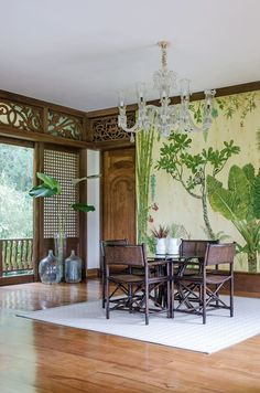 philippine home design/bahay-k Filipino Interior Design, Asian Interior, Tropical Interior, Tropical Decor, Tropical Houses, Home Interior Design, Interior Decorating, Interior Doors, Philippine Architecture
