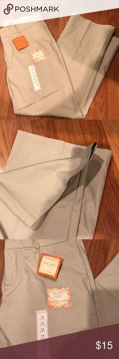 Dockers khaki pants new New with tags dockers khaki metro size 14 Dockers Pants