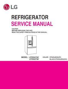 lg refrigerator service manual   anyservicemanual's collection of 80+  refrigerator service ideas in 2020  pinterest