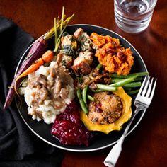 Vegetarian Thanksgiving Menu HealthyAperture.com