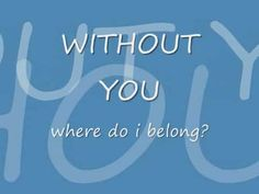 Samatha Cole - Without You Lyrics