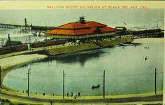 Postcard: Playa Del Rey,California.