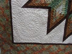 Quilt Vine: Star Full Of Feathers