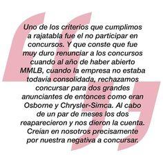 """Ya a la venta """"MMLB. Nosotros, los persuasores"""", el libro de la agencia que cambió el curso de la historia de la publicidad española http://www.lahistoriadelapublicidad.com/ficha.php?Cod_pro=130&Cat=5   #MMLB #NosotrosLosPersuasores"""