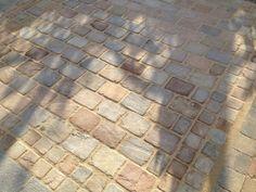 Image result for cobbled paving slabs