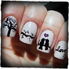Nails Stuff - the largest selection of various nail art and accessories at affordable prices Great Nails, Fabulous Nails, Love Nails, How To Do Nails, Fun Nails, Uñas Fashion, Valentine Nail Art, Cute Nail Designs, Creative Nails