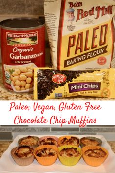Cookwith5Kids   Vegan paleo healthy chocolate chip muffins   https://cookwith5kids.com