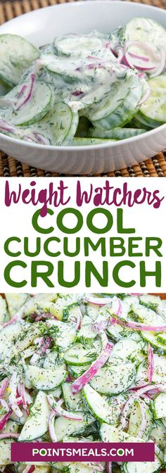 #weight_watchers Cool Cucumber Crunch