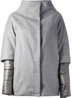 Herno double layer jacket on shopstyle.com