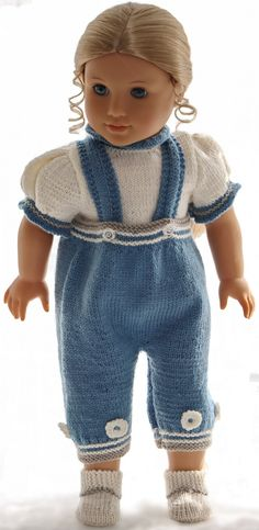 Knit american girl doll clothes
