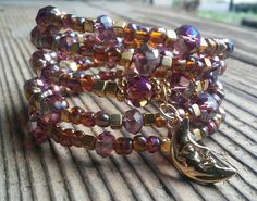 Hey, I found this really awesome Etsy listing at https://www.etsy.com/listing/268336856/gold-and-colored-crystal-bracelet-with