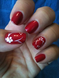 Beautiful Flower Nail Art, Wonder Nails