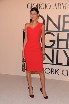Giovanna Battaglia does it again in red