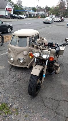 Nice Volkswagen 2017: Cool sidecar...  Funny Things Check more at http://carsboard.pro/2017/2017/04/04/volkswagen-2017-cool-sidecar-funny-things/