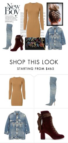 """""""Untitled #368"""" by sar-rab ❤ liked on Polyvore featuring A.L.C., Dolce&Gabbana, R13, Chloé and Yves Saint Laurent"""