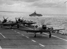 Hawker Sea Fury HMAS Sydney Royal Australian Navy Royal Australian Navy, Royal Australian Air Force, Navy Carriers, Australian Defence Force, Capital Ship, Aviation Image, Naval History, Aircraft Photos, Armada