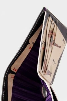 Paul Smith Playing Card Ladies Billfold Wallet Black