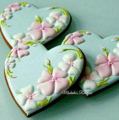 Mother's Day Cookies, Fancy Cookies, Heart Cookies, Valentine Cookies, Iced Cookies, Easter Cookies, Cupcake Cookies, Cupcakes, Cookie Frosting