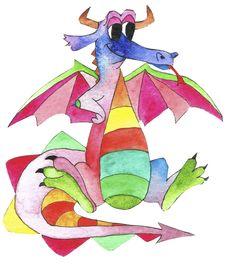 The Rainbow Dragon - Amy Knight